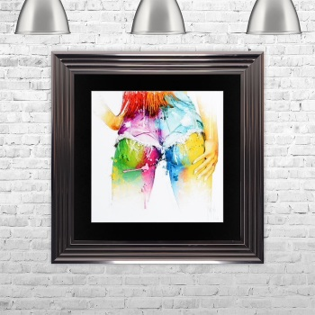 "Patrice Murciano Framed ""Cheeky Bum"" print medium 75cm x 75cm"