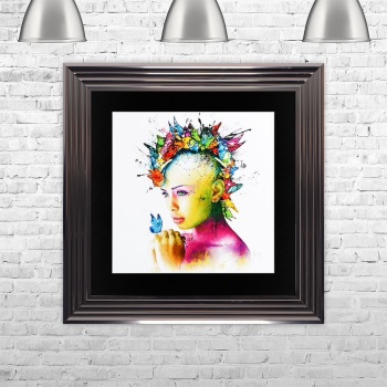 "Patrice Murciano Framed ""Power of Love"" print medium 75cm x 75cm"