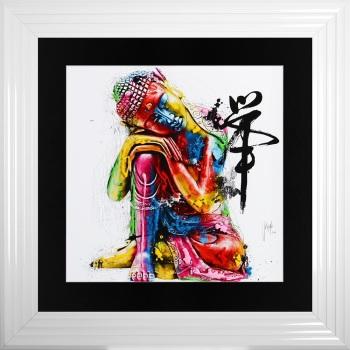 "Patrice Murciano Framed ""Buddha"" print medium 75cm x 75cm"