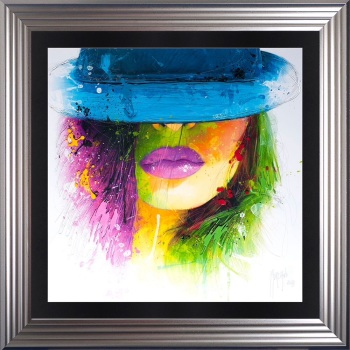 "Patrice Murciano Framed ""Hat"" print 90cm x 90cm"