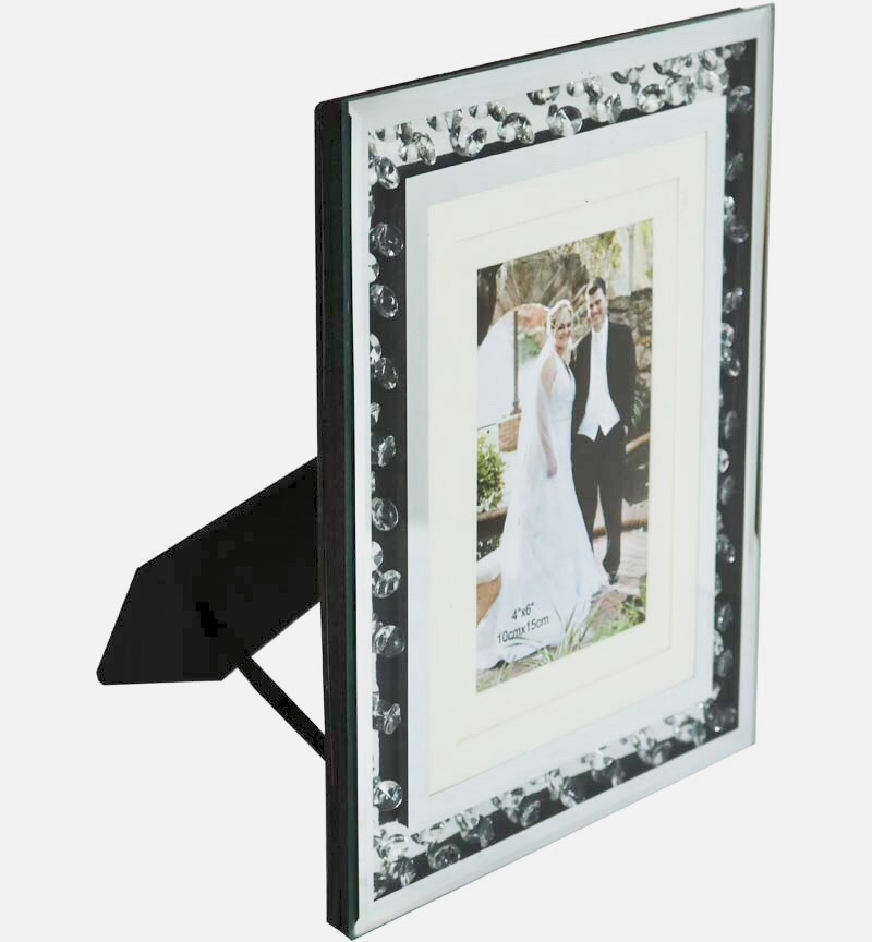 Floating Crystal Mirror Photo frame 4