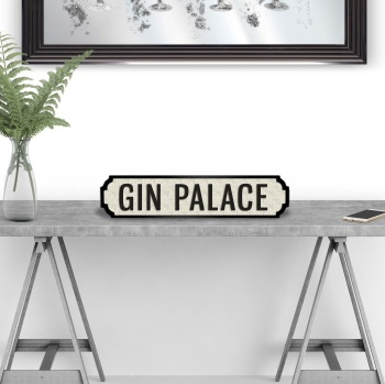 Gin Palace Street Sign