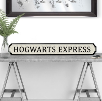Hogwarts Express Street Sign
