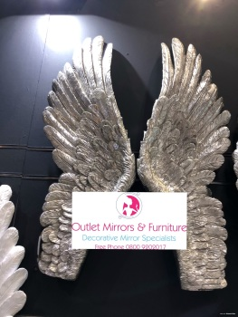 Angels wing Mother of perl large 90cm x 8cm x 36cm