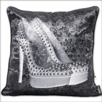 Luxury Feather Filled Cushion Paris Shoes