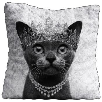 Luxury Feather Filled Cushion Burmese Cat