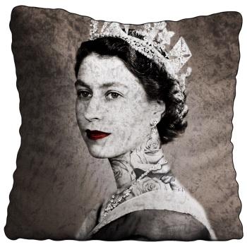 Luxury Feather Filled Cushion Queen Elizabeth