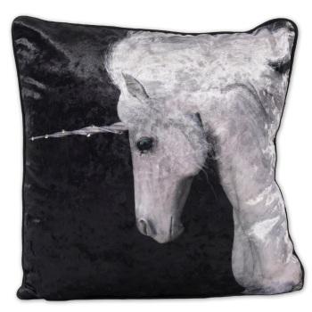 Luxury Feather Filled Cushion Unicorn