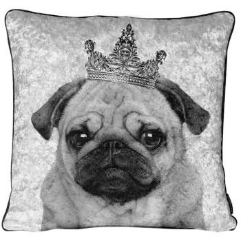 Luxury Feather Filled Cushion King Pug