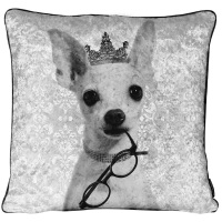 Luxury Feather Filled Cushion Chiwawa