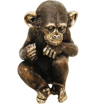 "11.5 "" Wise Monkeys-Hear No Evil"