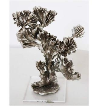 "17"" Silver Cactus"