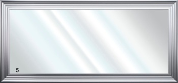 Framed Bevelled Wall Mirror Choice of frame colours 160cm x 75cm