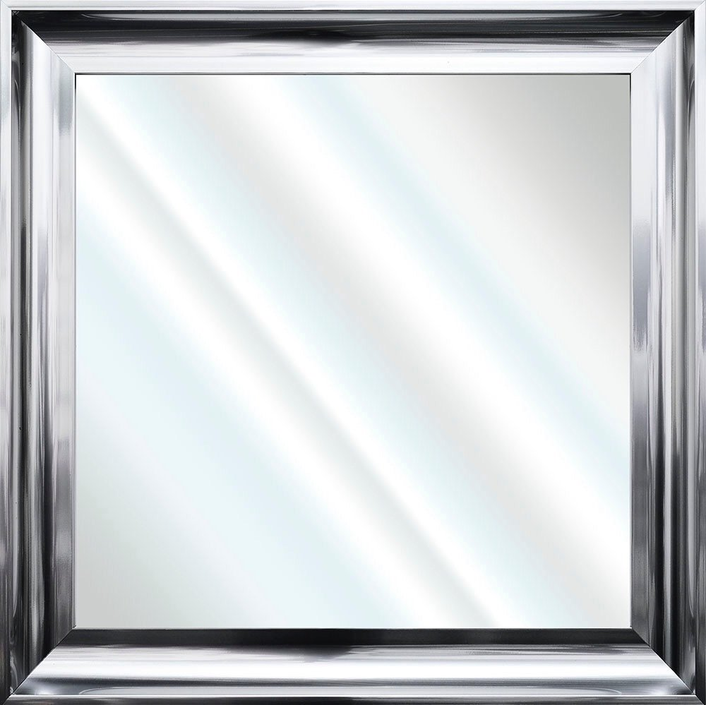 Framed Bevelled Wall Mirror Choice of frame colours 55cm x 55cm