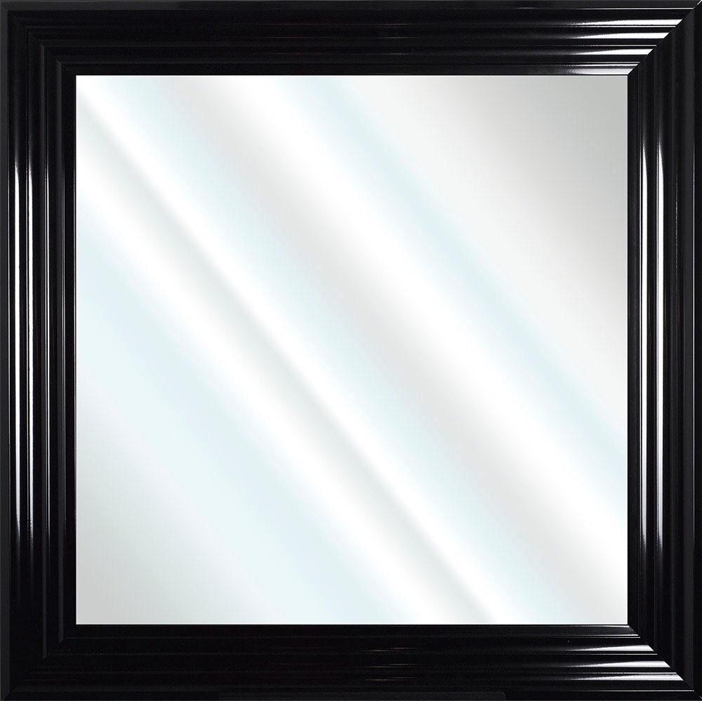 Framed Bevelled Wall Mirror Choice of frame colours 75cm x 75cm