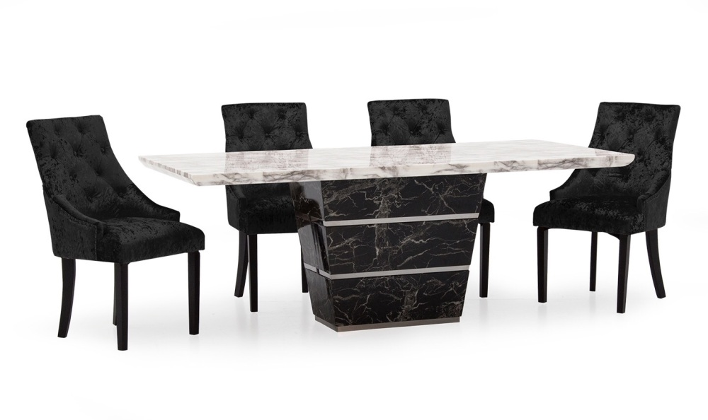 Valdina Marble Dining Table 2000mm