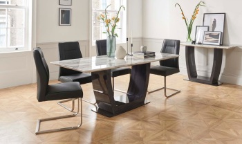 Luciana Marble Dining Table 1600mm