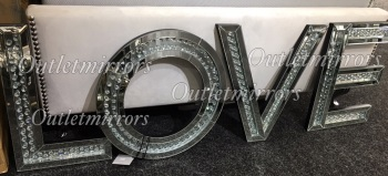 """* New Floating Crystal Letters """"Love"""""""