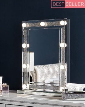 Crush sparkle Milano Hollywood Mirror