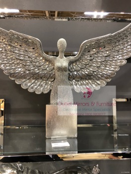 *Angel Wings Lady in Sparkle Silver