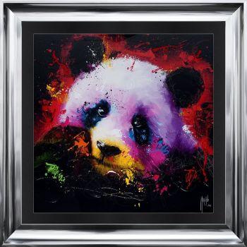 "Patrice Murciano Framed ""Panda"" print 90cm x 90cm"