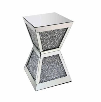 * Diamond Crush Crystal Sparkle Double invert Lamp Table large
