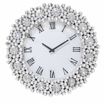 Jewel Crystal Wall Clock 52 dia