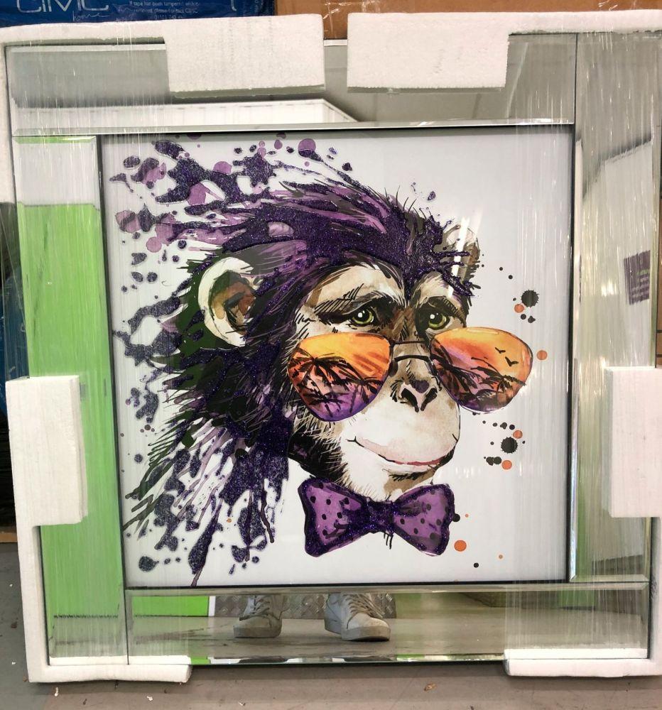 Mirror framed art print Colourful