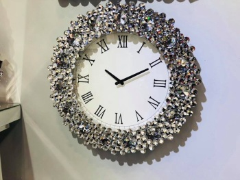 Jewel Crystal Wall Clock 52 dia