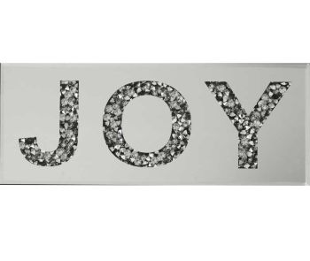 """ New Diamond Crush Plaque ""Joy"" item in stock"