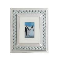 Floating Crystals collage 1 Mirrored Photo Frame large 40cm x 35cm item instock fast delivery