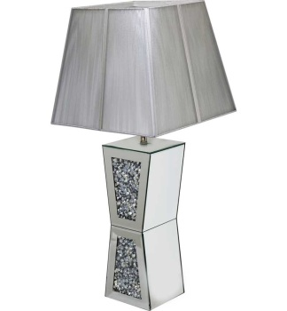*Diamond Crush Sparkle Vida Table Lamp
