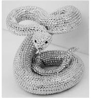 "Rattlesnake in Sparkle Silver 12"""