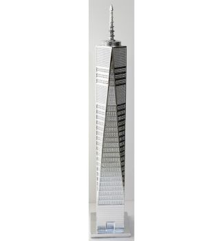 "29"" New World Trade Centre in Silver"