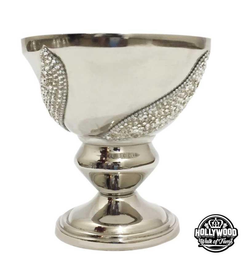Hollywood Walk of Fame Diamante Decor Swirl Bowl