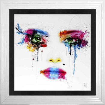 "Patrice Murciano Framed ""Face"" print 90cm x 90cm"