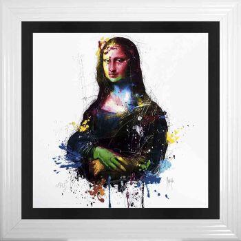 "Patrice Murciano Framed ""Mona"" print 90cm x 90cm"