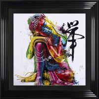 "Patrice Murciano Framed ""Buddha"" print 90cm x 90cm"