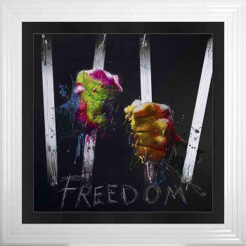 """Patrice Murciano Framed """"Freedom"""" print 90cm x 90cm"""