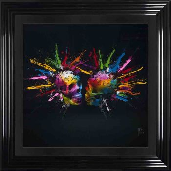 "Patrice Murciano Framed ""Lovers"" print 90cm x 90cm"