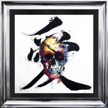 "Patrice Murciano Framed ""Pirate"" print 90cm x 90cm"
