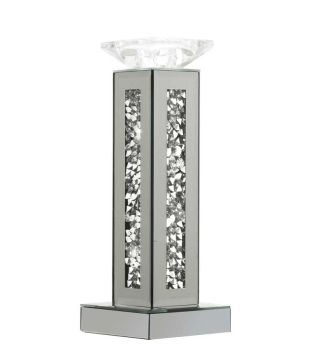 Diamond Crush Tea light Candle Holder Medium