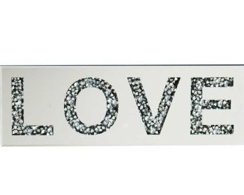""" New Diamond Crush Plaque ""Love"" item in stock"