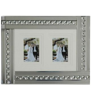 Glitz Crystal Mirrored Photo Frame  50cm x 35cm
