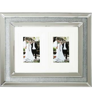 Glamour Sparkle Mirrored Photo Frame  50cm x 40cm
