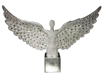 *Angel Wings Lady in Sparkle Silver item in stock