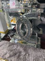 "*Diamond Crush crystal Sparkle ""CC"" Console Table  sold out  stock due 4-6 weeks (august)"