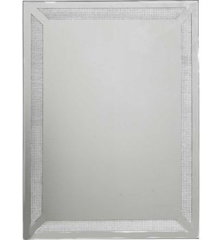 Glamour Sparkle Wall Mirror 80cm x 60cm