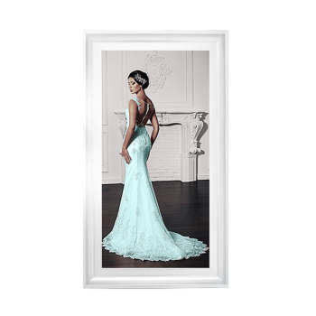 Glamour Lady at the Ball 2 wall Art in a choice of frame colours 114cm x 64cm