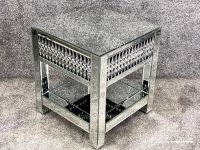 Crystal Teardrop Lamp Table